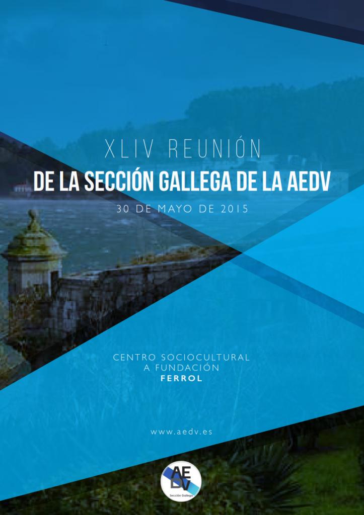 XIV Reunión Sección Gallega de la Academia Española de Dermatología y Venereología